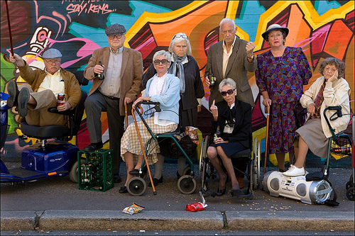 Picture of old people by All Chrome on Flickr